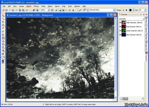 Corel Photo-Paint X3 - Альтернативные графические редакторы