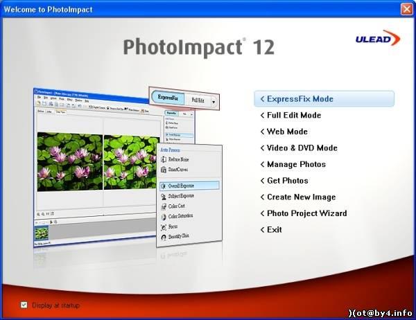Ulead PhotoImpact 12 - Альтернативные графические редакторы
